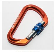 Jual Carabiner HMS Screw Tom Orange Murah