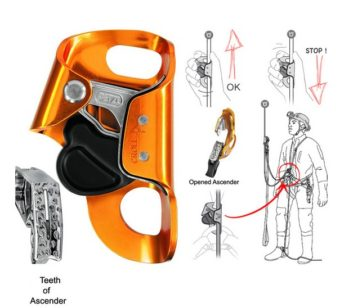 Jual Petzl Croll Chest Rope Clamp, B16BAA Murah